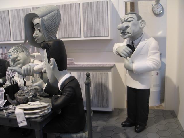 Les tontons flingueurs dans la sc ne de la cuisine par - Tontons flingueurs cuisine ...