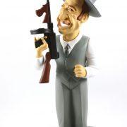 "Figurine Belmondo ""borsalino"""